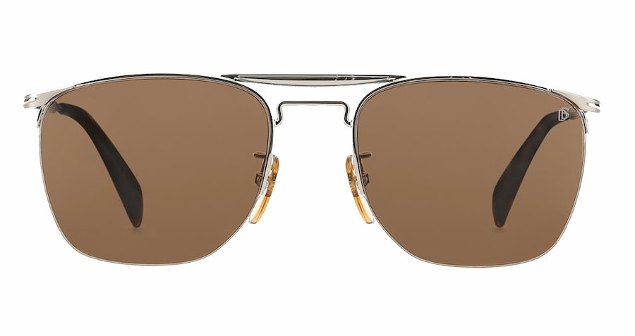 David Beckham Eyewear DB 1001/S Men's Sunglasses Brown/Grey