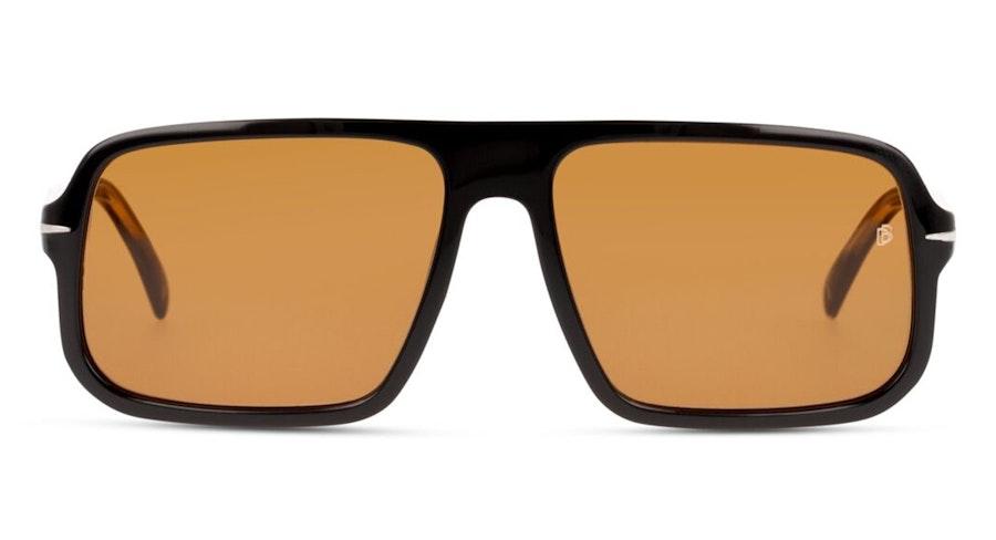 David Beckham Eyewear DB 7007/S Men's Sunglasses Brown/Black