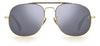 David Beckham Eyewear DB 7004/S Men's Sunglasses Grey/Gold
