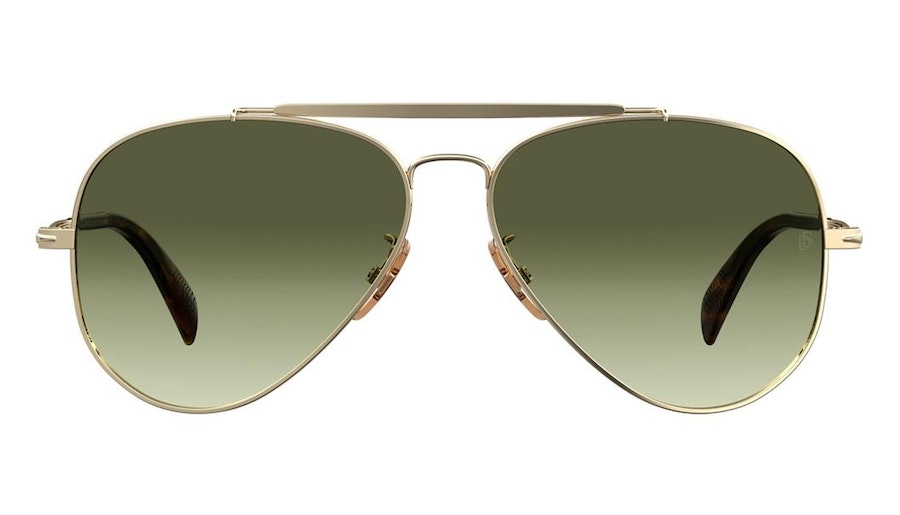 David Beckham Eyewear DB 1004/S Men's Sunglasses Grey/Gold
