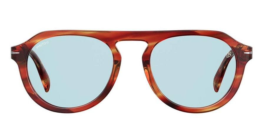 David Beckham Eyewear DB 7009/S Men's Sunglasses Blue/Tortoise Shell