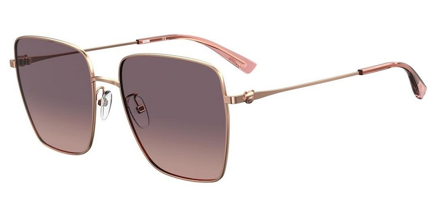 Moschino MOS 072/G Women's Sunglasses Pink/Gold