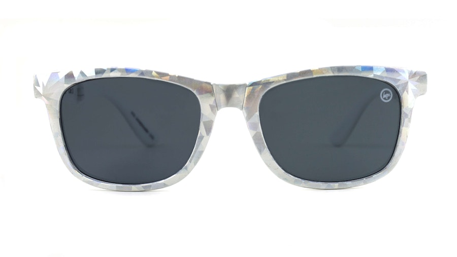 Hype Folder Children's Sunglasses Blue/Silver