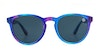 Hype Round Children's Sunglasses Grey/Blue