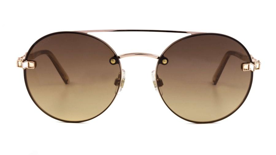Swarovski SK 0283 Women's Sunglasses Brown/Pink