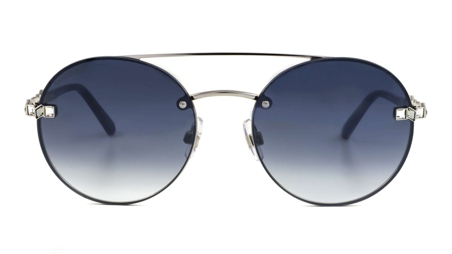 Swarovski SK 0283 Women's Sunglasses Grey/Silver