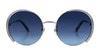 Swarovski SK 0280 Women's Sunglasses Blue/Silver