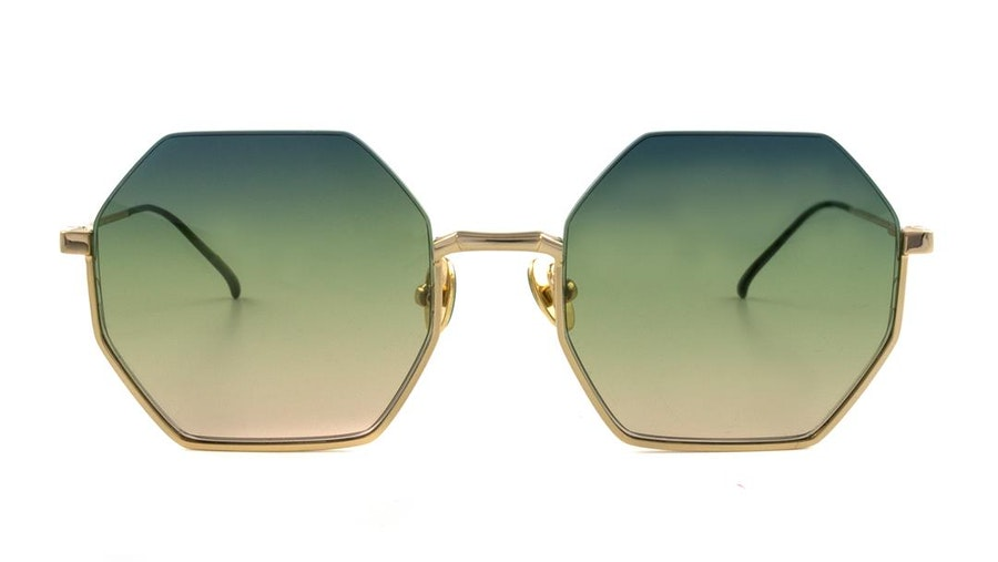 Scotch & Soda SS 5003 Women's Sunglasses Green/Gold