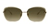 Sunday Somewhere Ava Women's Sunglasses Brown/Gold