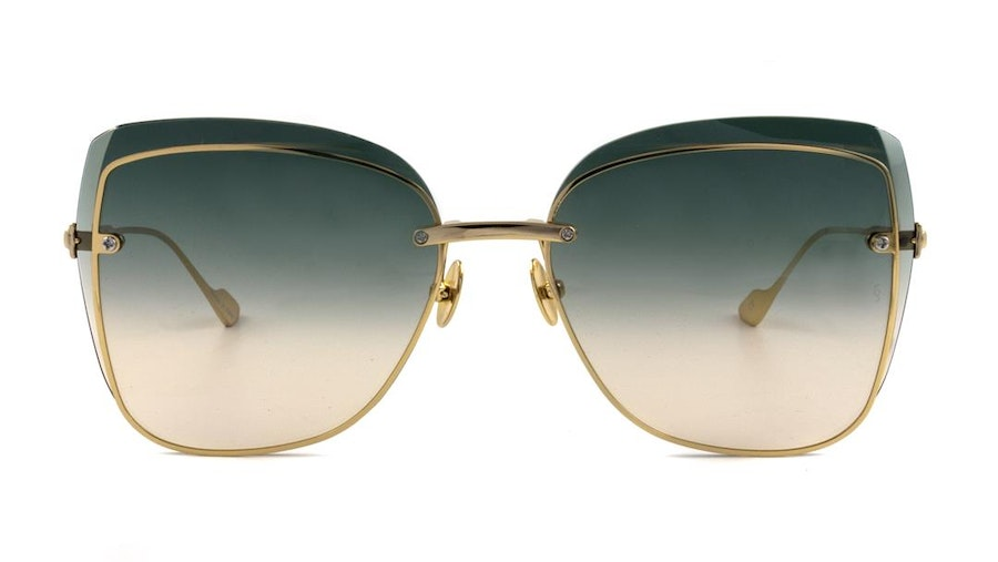 Sunday Somewhere Saskia Women's Sunglasses Green/Gold