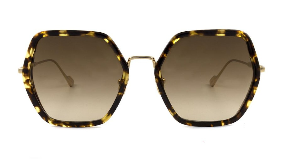 Sunday Somewhere Elizabeth Women's Sunglasses Brown/Gold