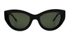 Sunday Somewhere Harper Women's Sunglasses Green/Black