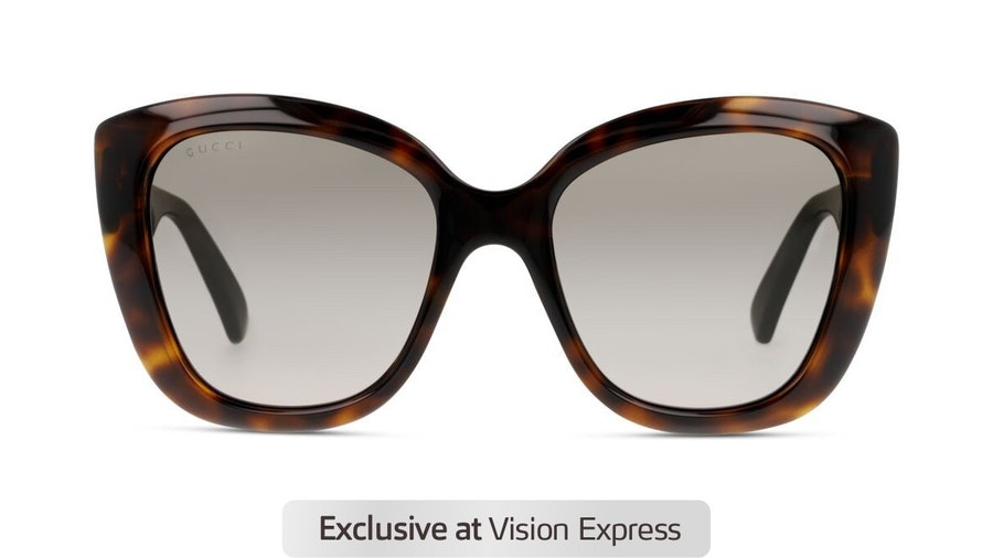 Gucci GG 0860S Women's Sunglasses Brown/Tortoise Shell