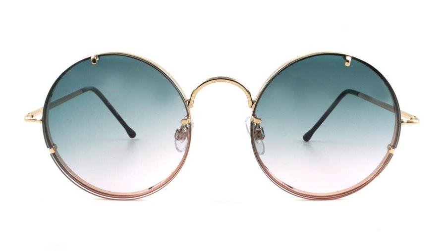 Spitfire Poolside Women's Sunglasses Blue/Gold