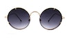 Spitfire Poolside Women's Sunglasses Grey/Gold