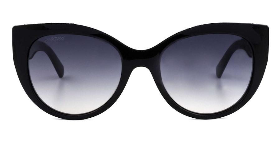 Swarovski SK 0202 Women's Sunglasses Grey / Black