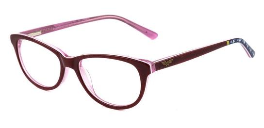 Wonder Woman 001 Children's Glasses Transparent / Red