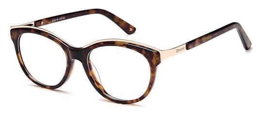001 Women's Glasses Transparent / Brown