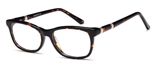 003 Women's Glasses Transparent / Brown