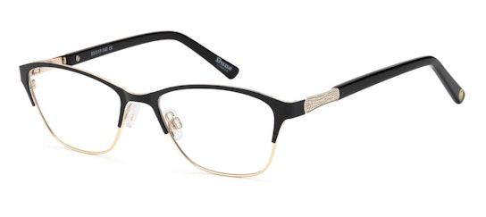 031 Women's Glasses Transparent / Black