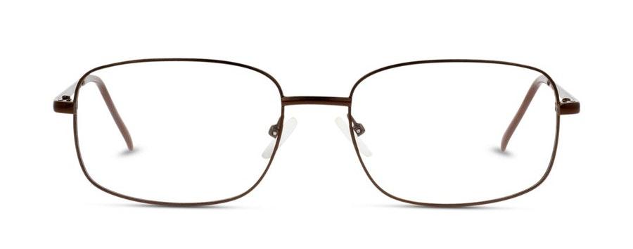 Seen SN BM07 (Large) Men's Glasses Brown