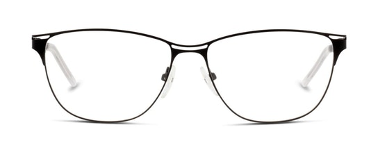 IS AF13 Women's Glasses Transparent / Black