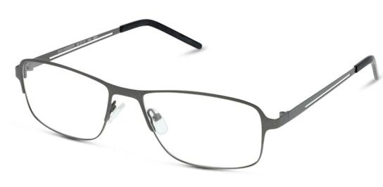 IS AM09 (Large) Men's Glasses Transparent / Grey