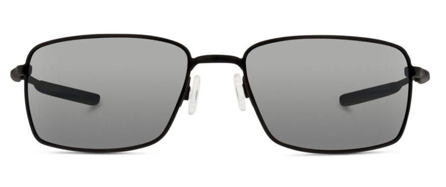 Oakley Square Wire OO 4075 Men's Sunglasses Silver / Black