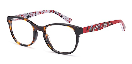 Characters LOON240 Children's Glasses Transparent / Tortoise Shell