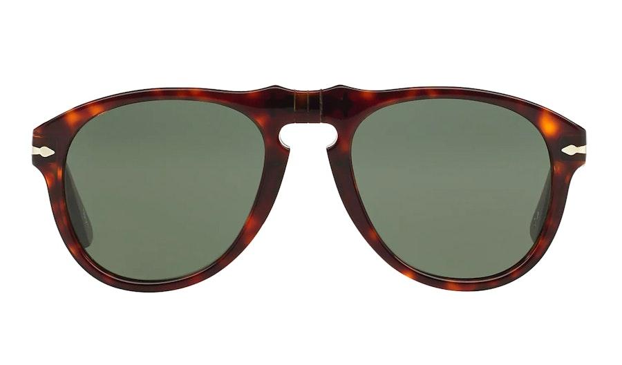 Persol PO 649S (24/31) Sunglasses Green / Tortoise Shell