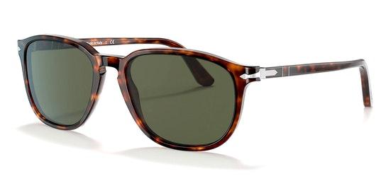 PO 3019S Men's Sunglasses Green / Tortoise Shell