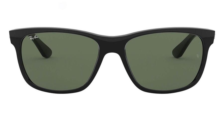 Ray-Ban RB 4181 (601) Sunglasses Green / Black