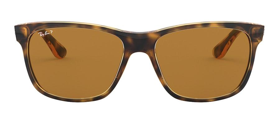 Ray-Ban RB 4181 (710/83) Sunglasses Brown / Tortoise Shell
