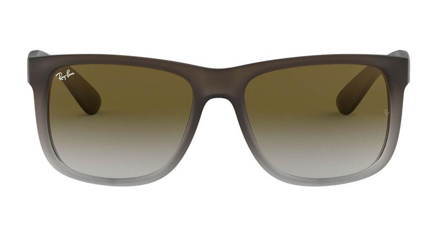 Ray-Ban Justin RB 4165 (854/7Z) Sunglasses Green / Grey