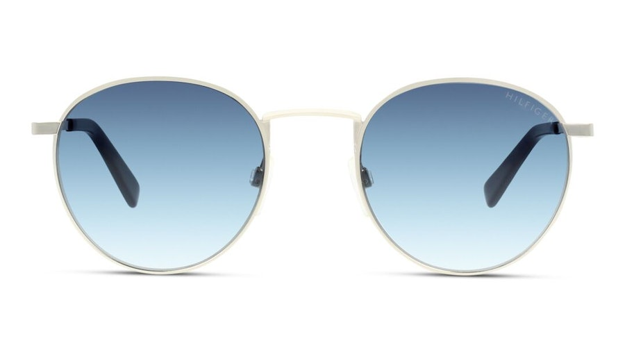 Tommy Hilfiger TH 1572/S Unisex Sunglasses Blue / Silver