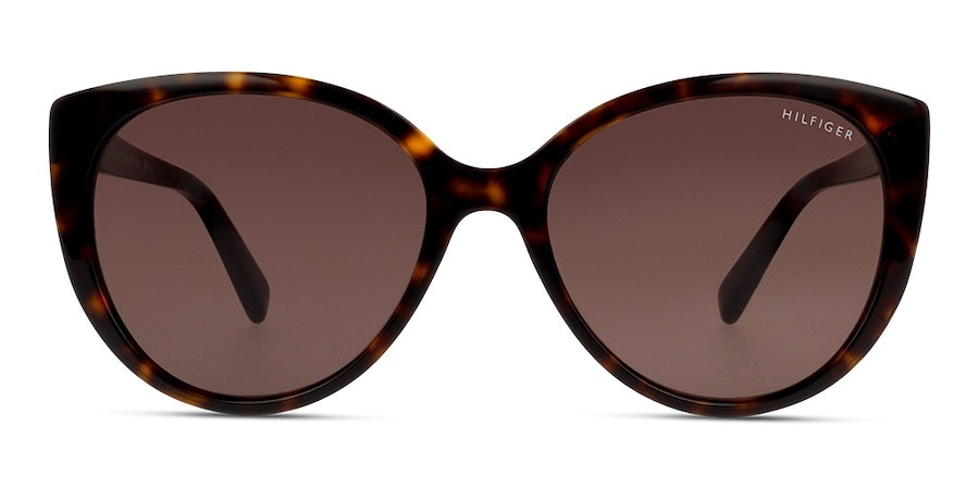 Tommy Hilfiger TH 1573/S Women's Sunglasses Brown / Tortoise Shell
