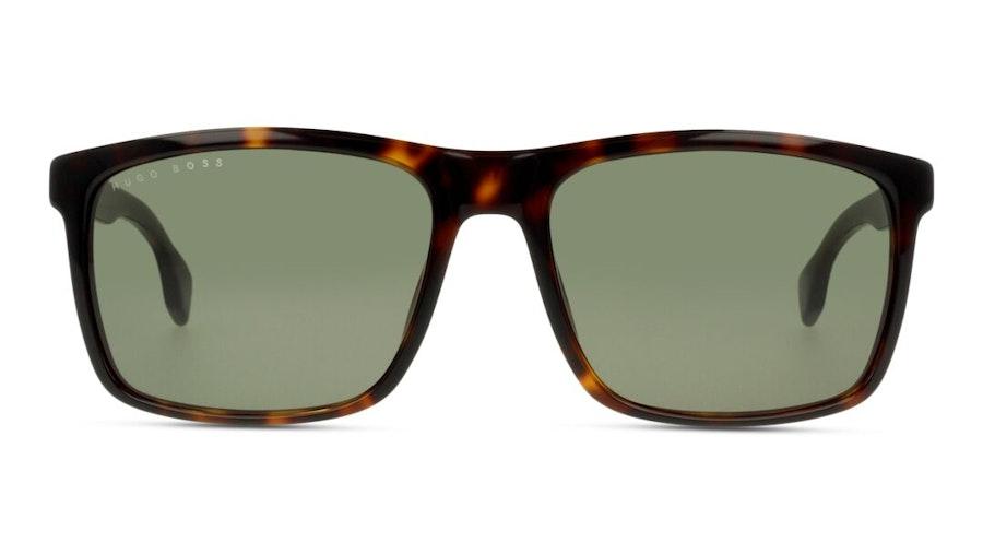 Hugo Boss BOSS 1036/S Men's Sunglasses Green / Tortoise Shell