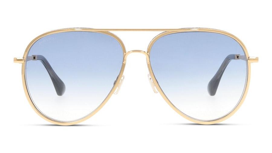 Jimmy Choo Triny (LKS) Sunglasses Blue / Gold