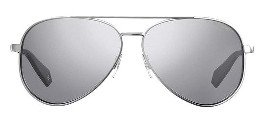 Mirrored Aviator PLD 6069/S (YB7) Sunglasses Silver / Silver