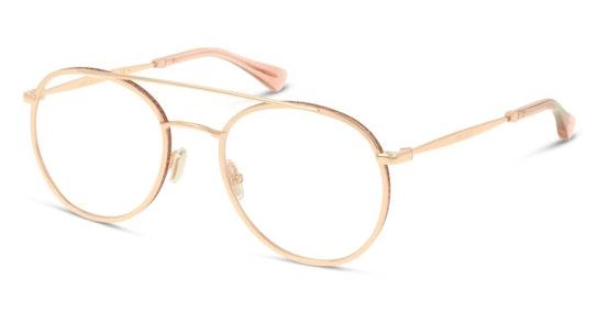 JC 230 Women's Glasses Transparent / Gold