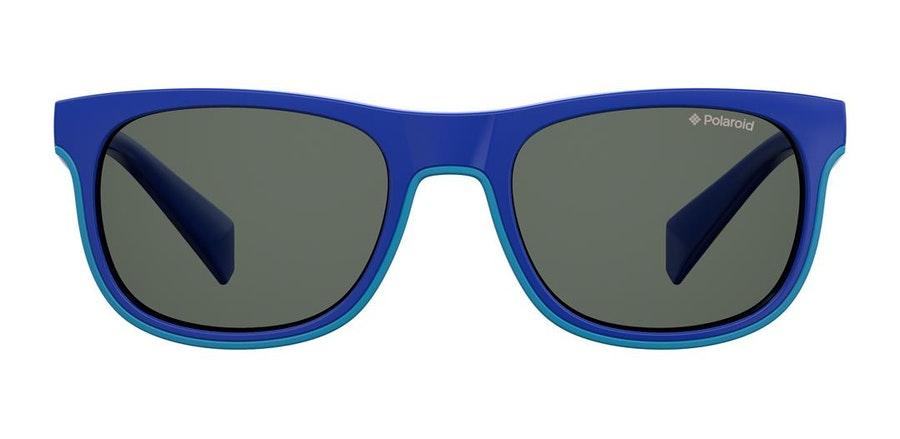 Polaroid Kids PLD 8035/S Children's Sunglasses Grey / Blue