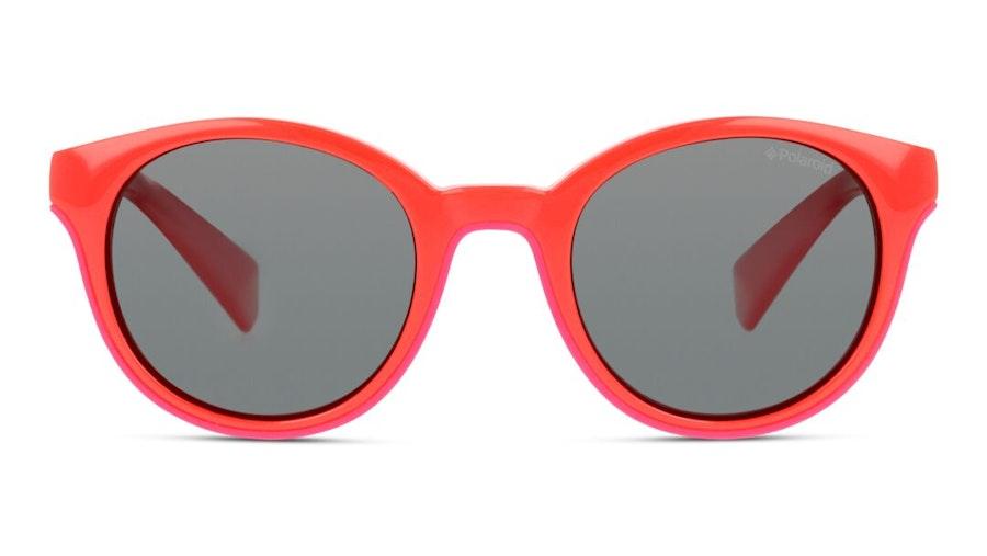Polaroid Kids PLD 8036/S Children's Sunglasses Grey / Red