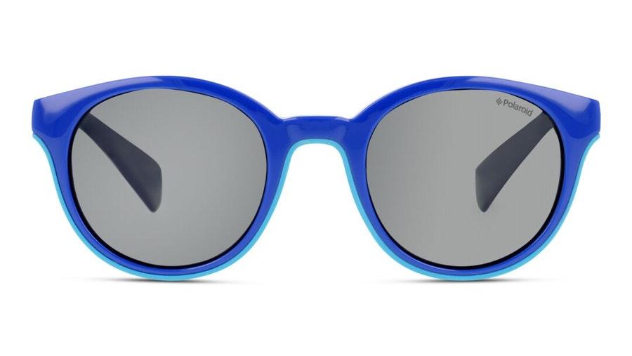 Polaroid Kids PLD 8036/S Children's Sunglasses Grey / Blue