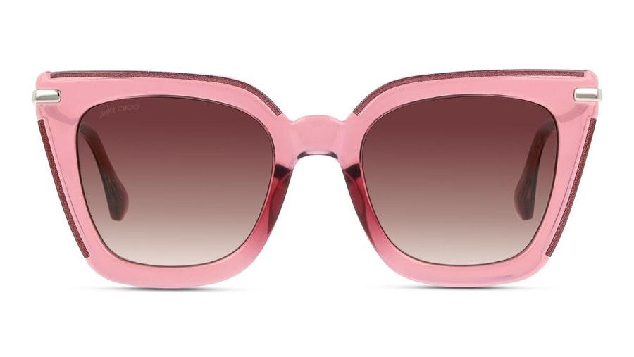 Jimmy Choo Ciara (S5R) Sunglasses Pink / Transparent