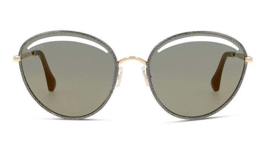 Jimmy Choo Malya Women's Sunglasses Grey / Gold