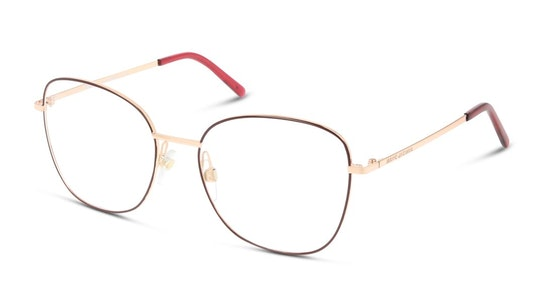 MARC 409 Women's Glasses Transparent / Burgundy