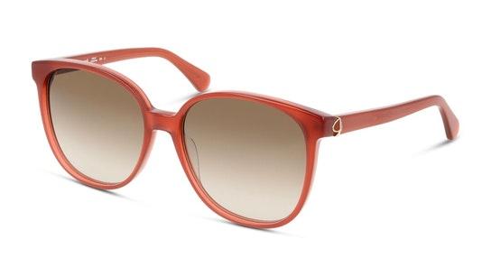 Alianna Women's Sunglasses Brown / Red