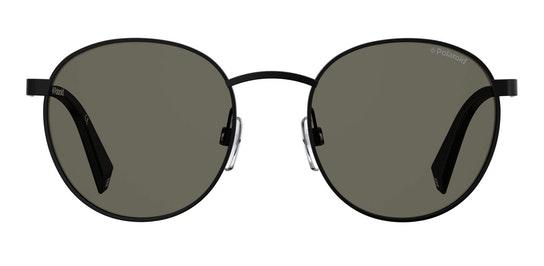 Round Pop PLD 2053/S Unisex Sunglasses Grey / Black