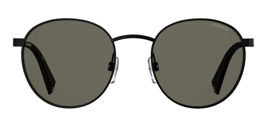 Love Island x Polaroid Round Pop PLD 2053/S (2O5) Sunglasses Grey / Black