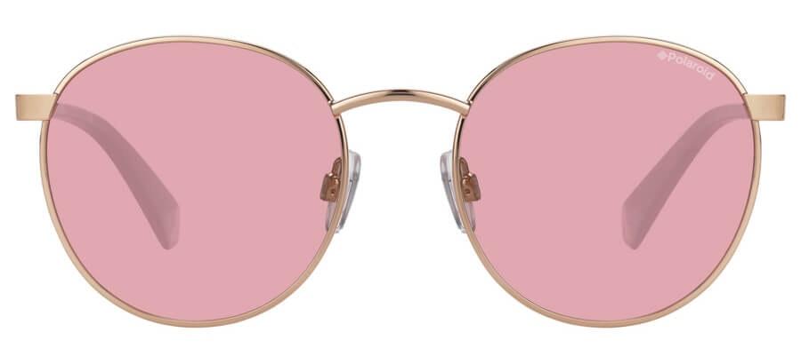Love Island x Polaroid Round Pop PLD 2053/S Unisex Sunglasses Pink / Pink